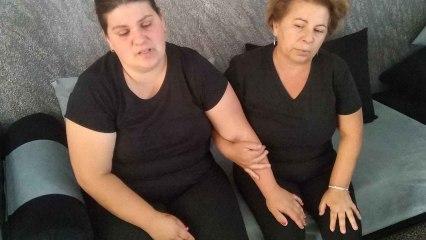 Andrea, la viuda de Younes, relata cómo perdió la vida su marido de dos disparos en una cafetería de Mazarrón.