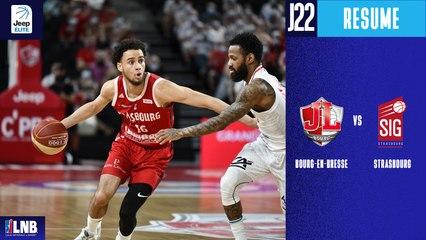 Bourg-En-Bresse vs. Strasbourg (73-81) - Résumé - 2020/21