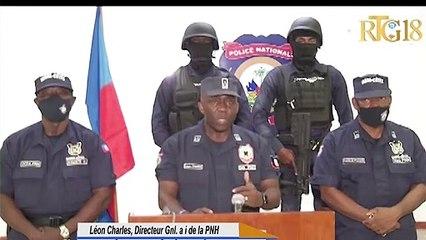 Lapolis reprann kontwòl sou komisarya pòtay St-Joseph la bandi ak zam te okipe.