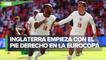 Raheem Sterling le da el triunfo a Inglaterra sobre Croacia en la Eurocopa 2021