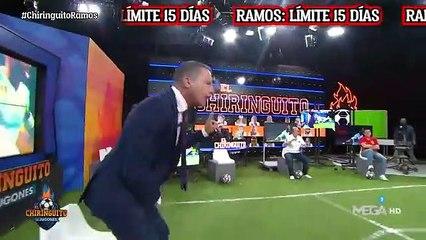 """Soria desmiente la supuesta oferta a Ramos en El Chiringuito: """"Faltas el respeto al Sevilla y al jugador"""""""