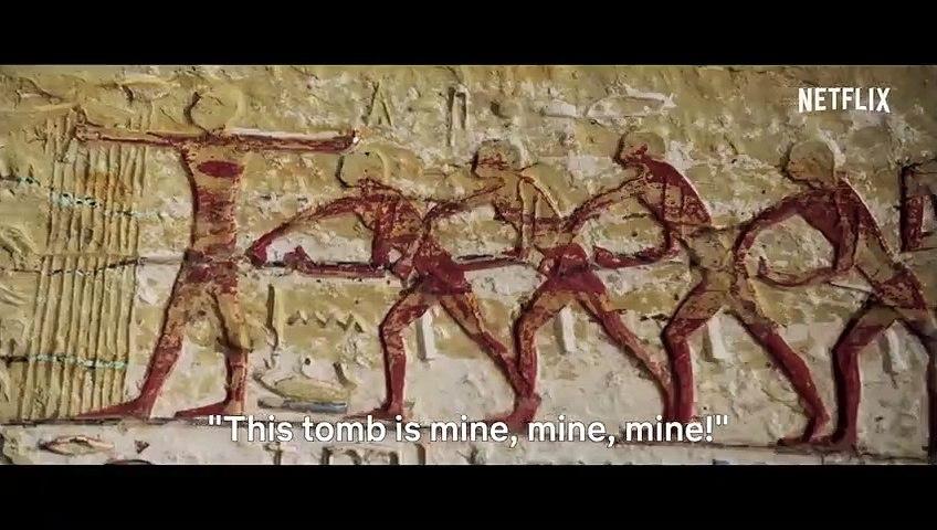 Secrets of the Saqqara Tomb  Official Trailer  Netflix
