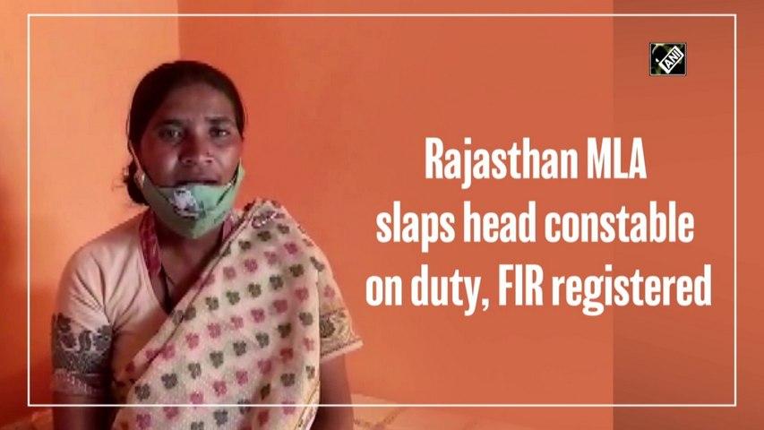 Rajasthan MLA slaps head constable on duty;FIR registered