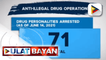 P544-K halaga ng iligal na droga, nasabat sa Marikina; Top 5 at 9 sa priority database ng EPD, arestado; P1.1-M halaga ng iligal na droga, nasamsam sa brgy. Tumana, Marikina