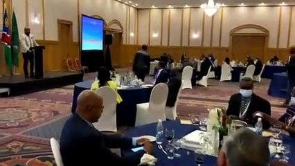 Conférence régionale de l'OMT : le message fort de Laye Junior Junior Condé à Windhoek