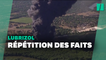 Une usine Lubrizol prend feu aux États-Unis, 20 mois après la catastrophe de Rouen
