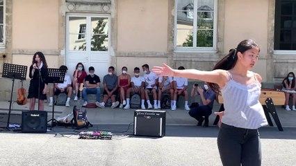 Fin d'année en musique au lycée Ambroise Paré de Laval