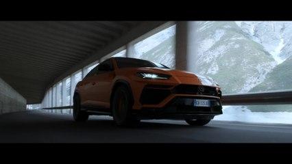 Lamborghini Urus et Aaron Durogati ensemble pour un défi exceptionnel