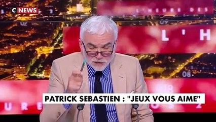 Regardez Patrick Sébastien qui, en direct sur CNews, se lance dans une imitation du Professeur Didier Raoult