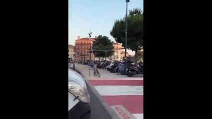 """Marseille: Un """"individu potentiellement menaçant"""" interpellé par la police à la gare Saint-Charles dans un TGV en provenance de Nancy"""