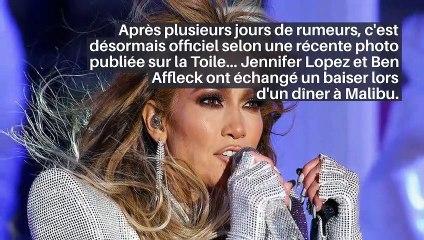 Jennifer Lopez et Ben Affleck en couple: le bisou qui confirme leur idylle!