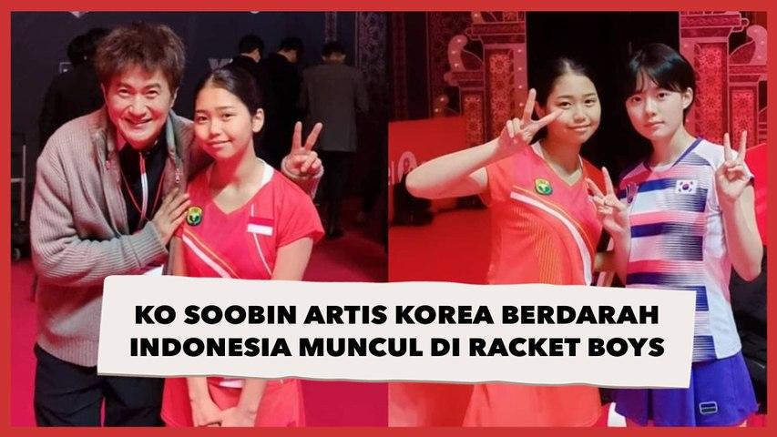 Ko Soobin Artis Korea Berdarah Indonesia yang Muncul di Racket Boys