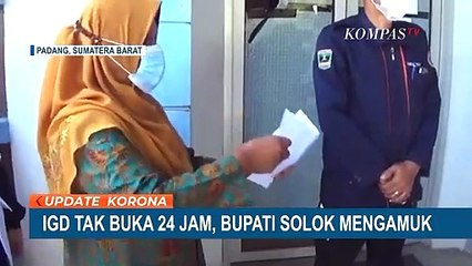 Bupati Solok Ngamuk Temukan IGD Pukesmas Tutup Jam 5 Sore