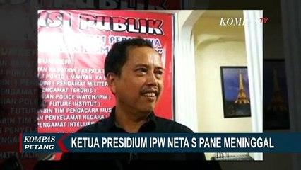 Ketua Presidium IPW Meninggal Akibat Covid-19