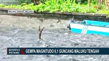 Gempa Magnitudo 6,1 Guncang Maluku Tengah