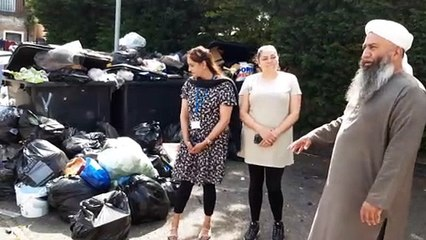 Fly-tipping at Berry Court in Peterborough