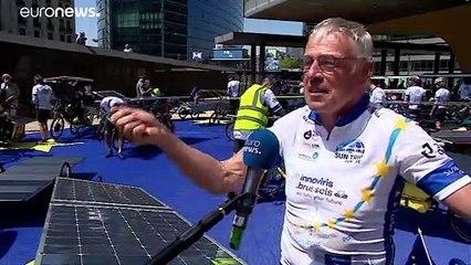 Стартовал велопробег по Европе на энергии Солнца