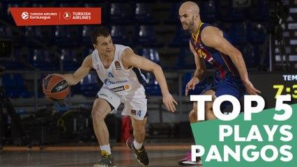 Top 5 Plays Kevin Pangos, Zenit