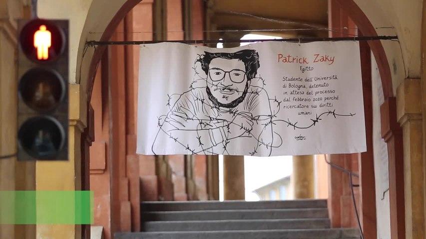 Patrick Zaki, a Bologna 50 ritratti per chiedere la liberazione