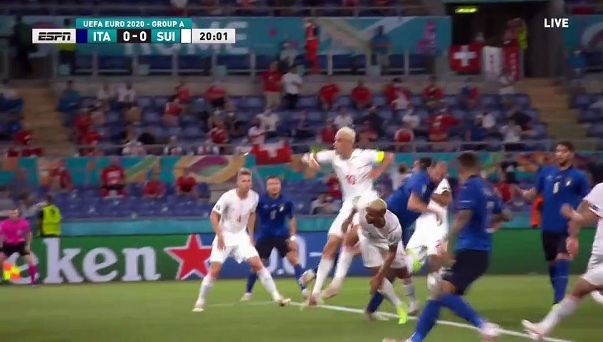 Italy vs Switzerland All Goals and Highlights 16/06/2021