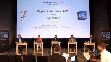 Elections départementales dans la Vienne : le débat du premier tour avec France Bleu Poitou