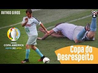 Copa América no Brasil é um tapa na cara dos Brasileiros
