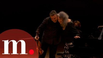Martha Argerich and Maxim Vengerov perform Kreisler's Liebesleid