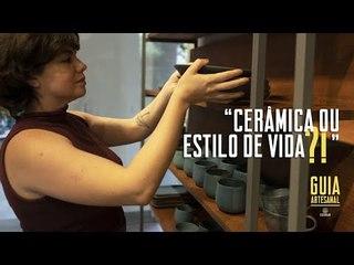 O Ateliê de Cerâmica: um laboratório familiar de peças artesanais