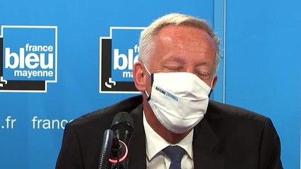 Olivier Richefou, le président UDI du Département, était l'invité de la matinale de France Bleu Mayenne