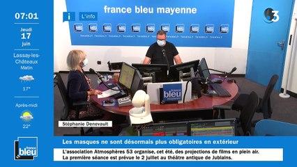 17/06/2021 - La matinale de France Bleu Mayenne