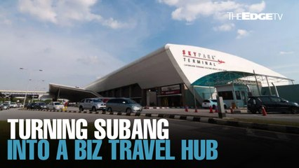 NEWS: Turning Subang into a business aviation hub