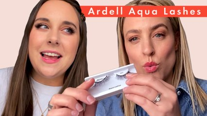 Beauty Lab test the Ardell Aqua Lashes