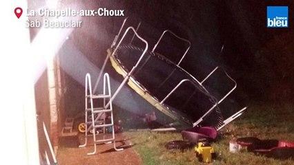 Les orages ont fait des dégâts en Sarthe