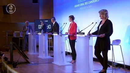 Grand oral des candidats à la présidence du CNOSF