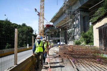 VIDEO. Dans les coulisses de la construction du nouveau viaduc de l'A10