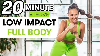 20-Minute Low Impact Full Body Strength Workout