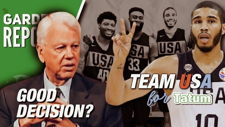 Should Jayson Tatum Play in the Olympics?