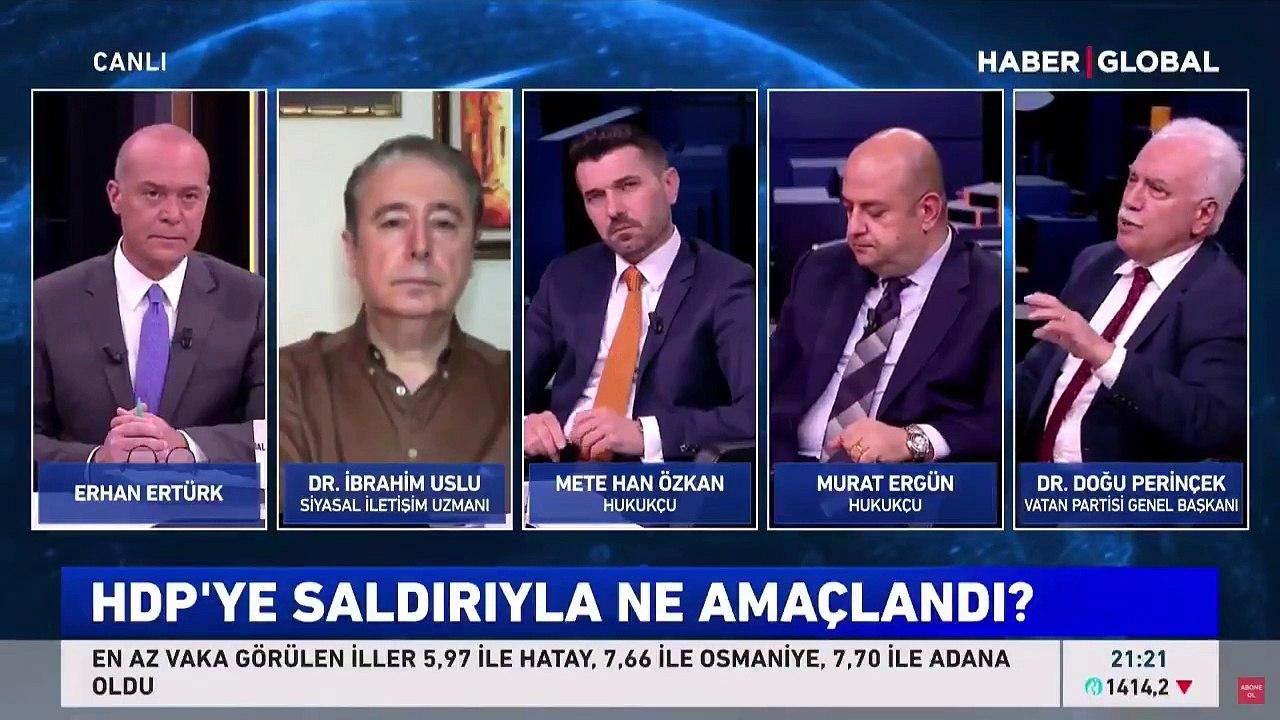 Doğu Perinçek: İzmir'deki saldırı Biden'ın ''HDP'yi mazlumlaştırma'' planı - Dailymotion Video
