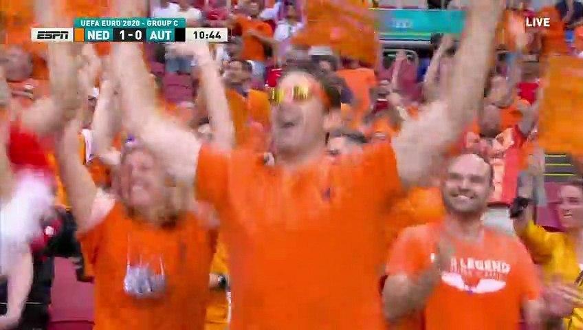 Netherlands vs Austria All Goals and highlights 17/06/2021