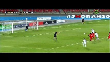 Algérie A' Libéria (5-1): But de Messaoudi