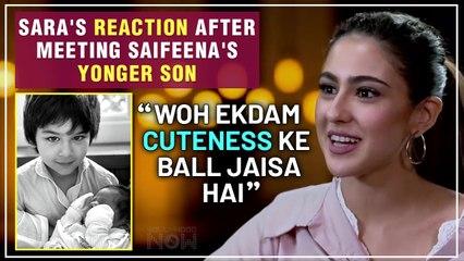 Sara Ali Khan's REACTION After Meeting Saif & Kareen's Second Baby