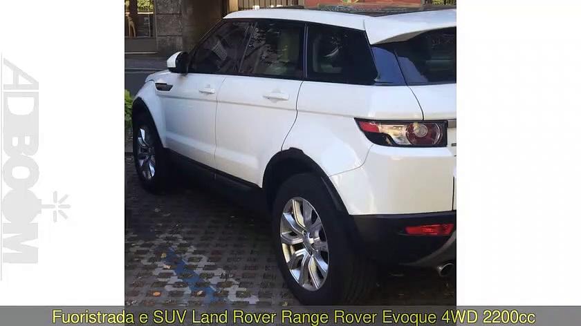 LAND ROVER Range Rover Evoque   4WD