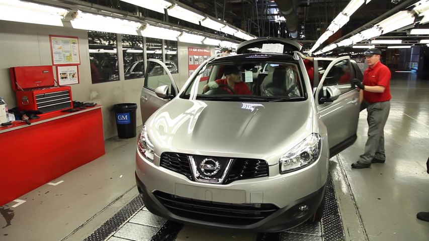 2021 Nissan Qashqai Production