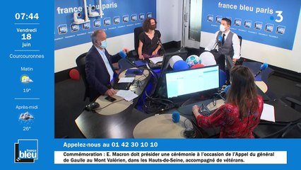 18/06/2021 - La matinale de France Bleu Paris