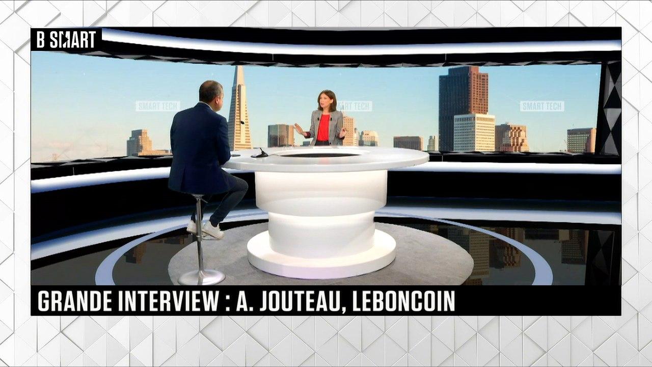 SMART TECH - La grande interview de Antoine Jouteau (Groupe leboncoin) - Vidéo Dailymotion