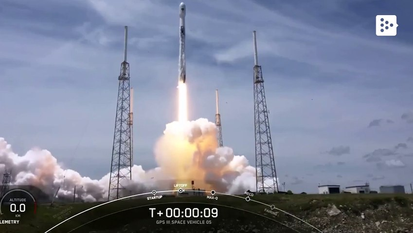 SpaceX repurposes a Falcon 9 to launch a satellite for the US Space Force for the first time