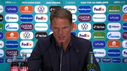 'Of course we are the favourite!' - de Boer on the Dutch chances to win Euro 2020