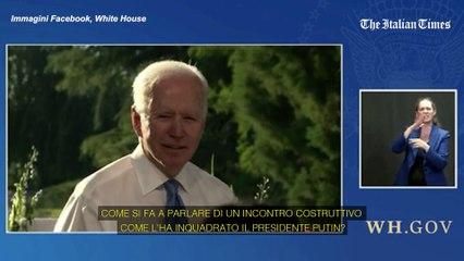 """Usa, Biden contro la giornalista: """"Se non capisci hai sbagliato lavoro"""""""
