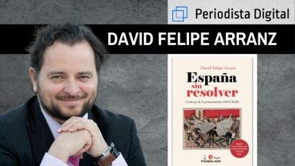 """David Felipe Arranz: """"Vivimos en un estado de malestar, estamos en un proceso de degradación del escenario ético"""""""
