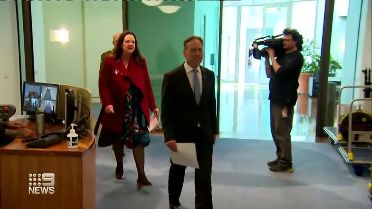 AstraZeneca advice forces emergency National Cabinet meeting _ Coronavirus _ 9 News Australia